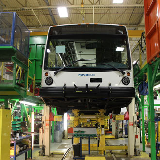 A new partnership with Metrolinx strengthens Nova Bus' fast growing position in Ontario