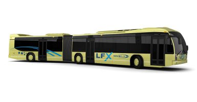 Introduction du modèle d'autobus LFX