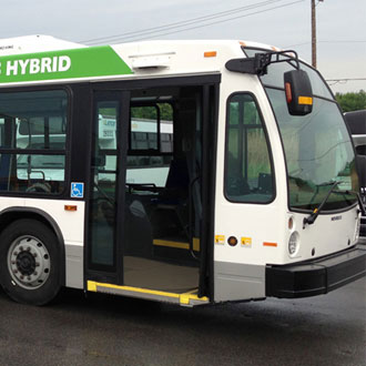 Nova LFS HEV Series-E hybrid bus: technological advance being tested in Quebec