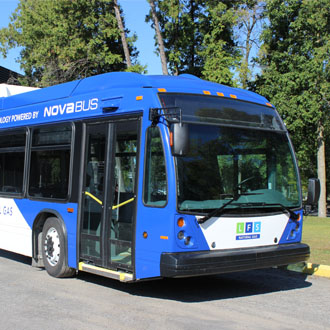 NFTA: First LFS Natural Gas bus partnership in the United States for Nova Bus