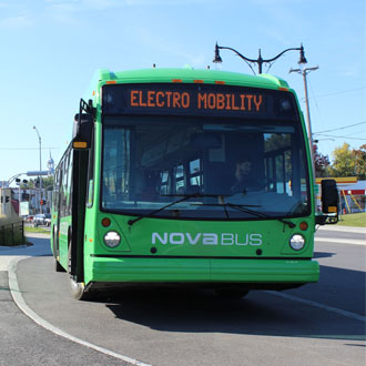 APTA's EXPO 2014: Nova Bus showcases its Electro Mobility solution to the American market