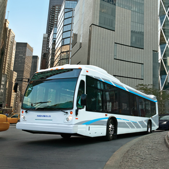 More Nova LFS buses to roll in Brampton