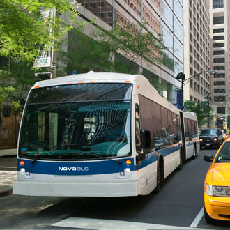 Nova Bus ends the year 2015 on a positive note at cuta trans-expo in Montreal