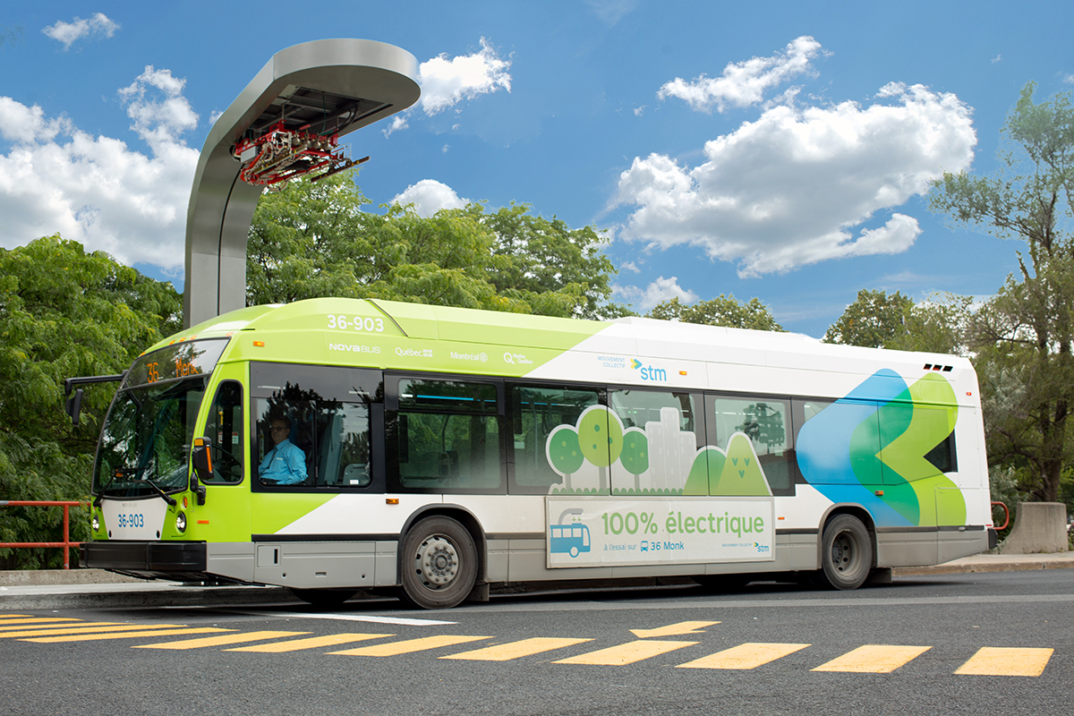New order of electric buses for Montreal - Novabus