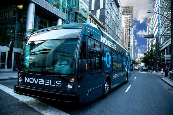 Nova Bus présente le LFSe+, un nouvel autobus électrique qui offre une importante autonomie et deux méthodes de recharge
