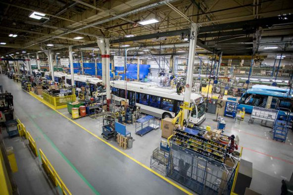 Nova Bus announces increase in production