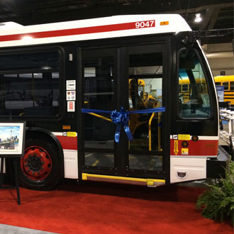 Nova Bus to deliver 55 Nova LFS buses to the Toronto Transit Commission