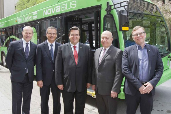 Electrification of transportation: Volvo-stm city mobility project presented to local economic players