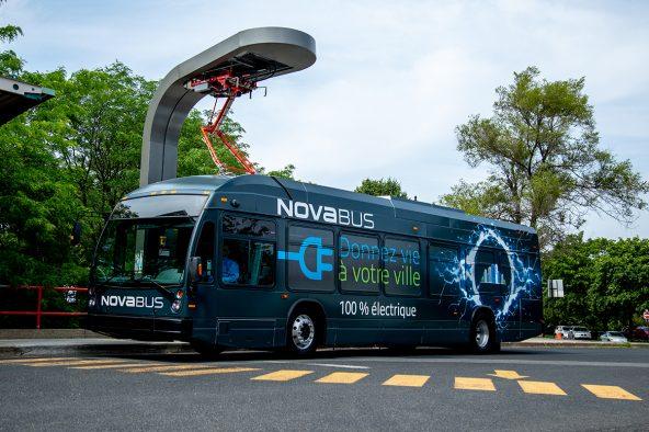 Nova Bus est fier d'annoncer une nouvelle commande de deux autobus électriques par la ville de Brampton dans le cadre du projet CRITUC