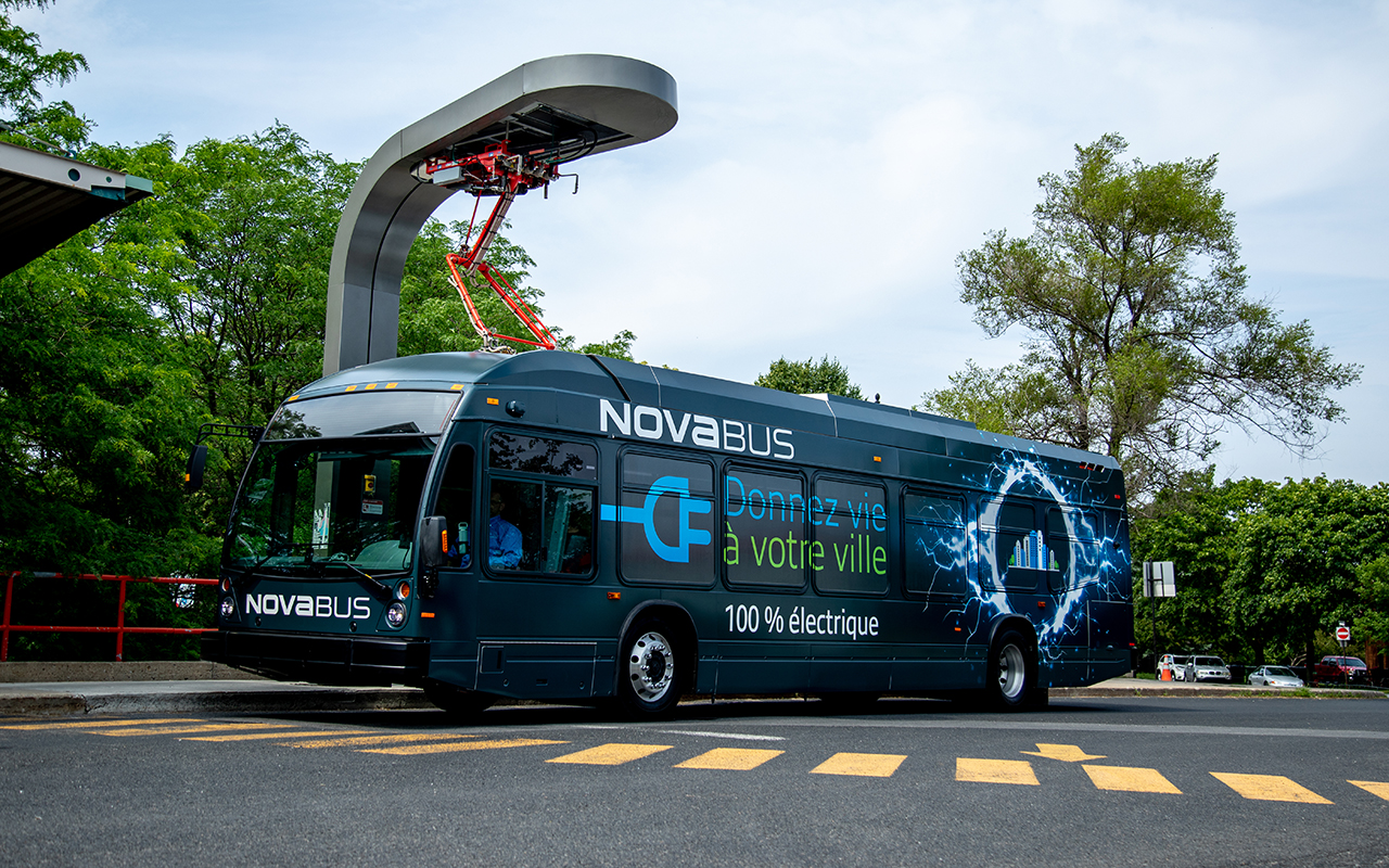 Nova Bus is proud to announce a new order for two Electric Buses by Brampton as Part of the CUTRIC Project