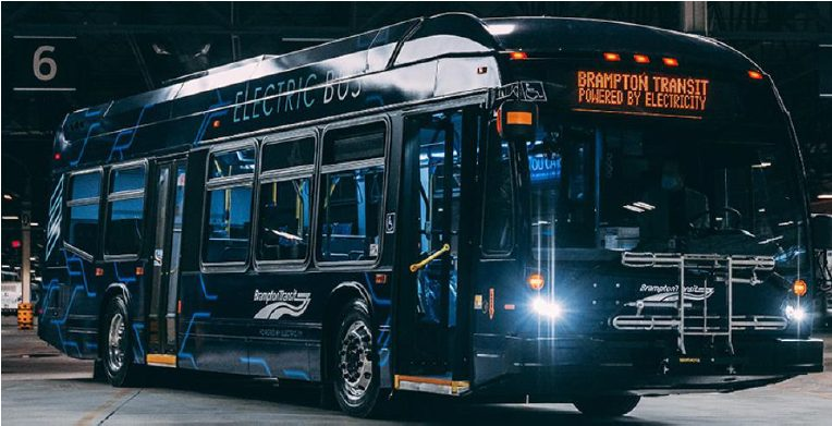 Electric buses from Nova Bus now hitting the road in Brampton